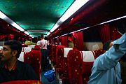 Arriving by bus to KL
